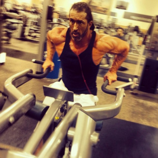 Tyler Reks Working Out
