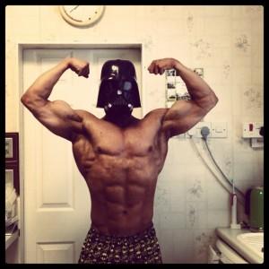 Darth Vader Bodybuilder