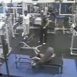 Dumbbell Falls Apart Mid Set In Gym Accident