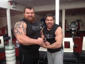 eddie hall protein dynamix adam foster shreddybrek