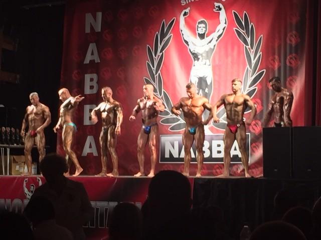 NABBA Line Up